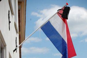 eindexamen vlag uit