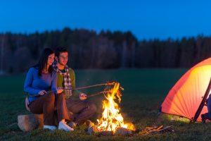 kamperen zomervakantie