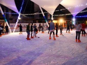 schaatsbaan huren