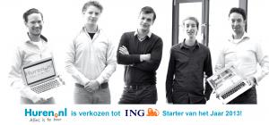 ING Starter van het Jaar 2013