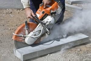 Steen- en betonbewerken